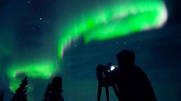 Behind the scenes: Experiencing the spectacular Northern Lights