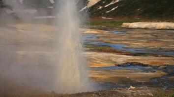 New Geyser Erupts