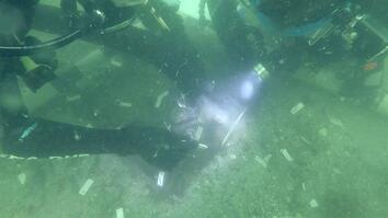 See an Underwater Prehistoric Native American Burial Ground