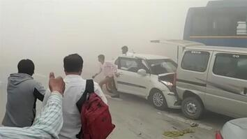 Pollution Is So Bad in India, It's Causing Car Crashes