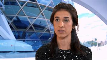 Nobel Peace Prize winner Nadia Murad talks to National Geographic