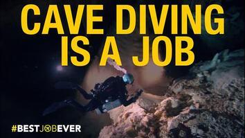 Underwater Cave Diving