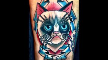 Cattoos: How This Tattoo Artist Helps to Immortalize Beloved Pets