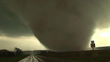 Tornado Crosses Kansas Highway