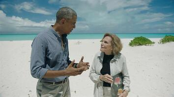 Sylvia Earle Introduces President Obama To His New Namesake Fish