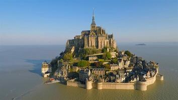 Get a Bird's-Eye View of the Famous Mont-Saint-Michel