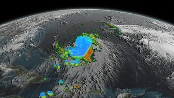 Animation: Joaquin the Day Before It Became a Hurricane