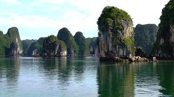 Vietnam's Ha Long Bay Is a Spectacular Garden of Islands