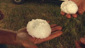 Giant Hailstones Pummel Scientists