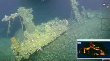 New Underwater Video: This Pearl Harbor Warship Fired First American Shot in WWII