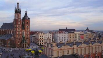See the Castles and Cathedrals of Krakow's Historic City Center