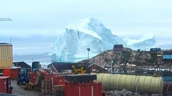Greenland Villagers Evacuated as Giant Iceberg Floats By