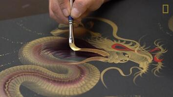 The Art of Single Stroke Painting in Japan