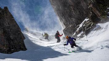 Ski Mountaineers Tackle Colorado's Hundred Tallest Peaks