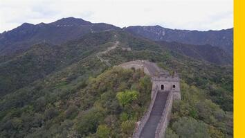 See China's Iconic Great Wall From Above