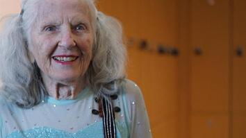 90-Year-Old Figure Skater Will Warm Your Heart with Her Amazing Talent