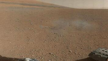 "New Rover Pictures Show Mars Crater ""Like Mojave Desert"""