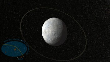 Animation: First Rings Found Circling Weird World Near Pluto