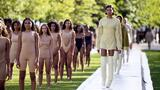Kanye West Fashion Show