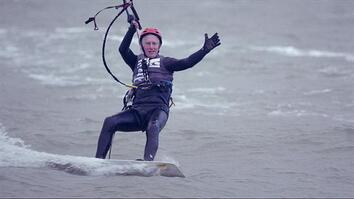 77-Year-Old Kitesurfer Proves You're Never Too Old to Fly