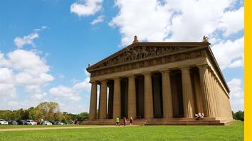This Full-Size Parthenon Is Not in Greece