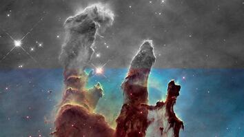 Iconic Space Images Are Actually Black-and-White