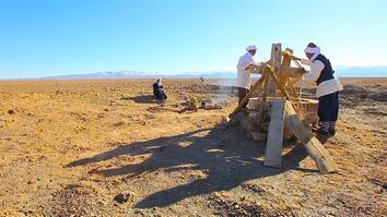 Beneath Iran's Dusty Desert Lie Ancient Water Tunnels Still in Use