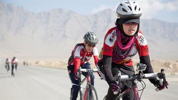 Afghan Women's Cycling Team Breaks Cultural Boundaries
