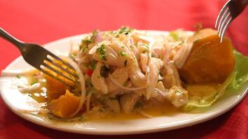 Love and Ceviche: Famous Matriarch Passes Along a Delicious Tradition
