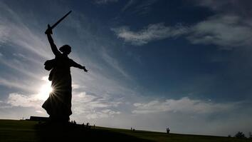 The Story Behind Europe's Tallest Statue: The Motherland Calls