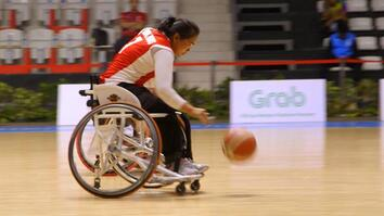 Meet Cambodia's first women's wheelchair basketball team