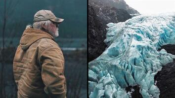 He's Watching This Glacier Melt Before His Eyes