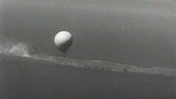Declassifed Navy Film Shows Balloon Bomb