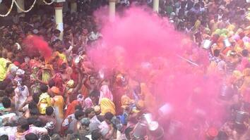Inside Holi Festival, One of India's Most Colorful Hindu Traditions