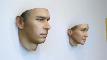 Artist Makes 3-D Portraits From DNA Found on Gum, Cigarette Butts, and Fingernails
