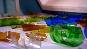 I Didn't Know That: Making Art From Recycled Glass