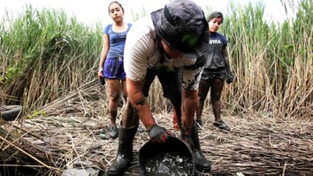 Students Kill Invasive 'Phrag'