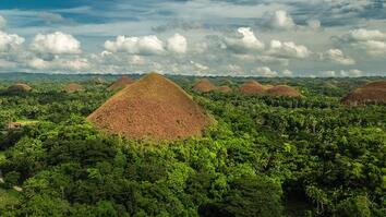 Soar Over the Chocolate Hills in the Philippines