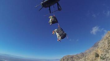 The Best Way to Move Mountain Goats? Helicopters.