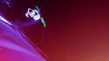 Watch Glowing Skiers Fly Like Meteors of Light