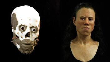 Watch: Face of 9,000-Year-Old Teenager Reconstructed