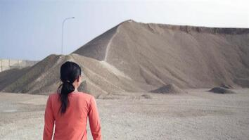 See how sand mining destroys one home to build another