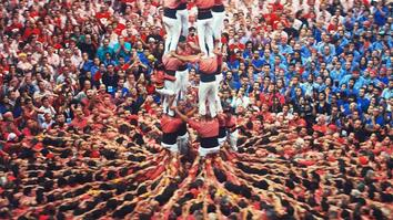 These death-defying human towers build on Catalan tradition