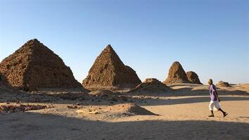 Exclusive: Dive inside the burial chambers of Sudan's royal pyramids