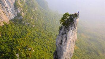 Climbing China's Incredible Cliffs