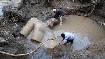 Updated: Giant Egyptian Statue Likely Not Ramses II