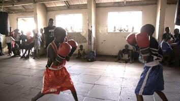 Pro Boxer Inspires Girls to Fight for Their Futures