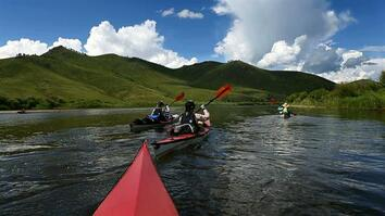 'Four Women Prepare to Tackle a Wild River': Behind the Scenes