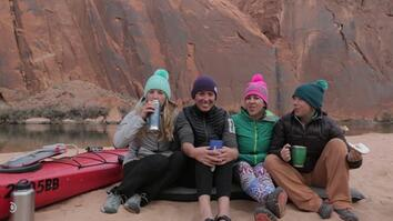 Four Women Prepare to Tackle a Wild River