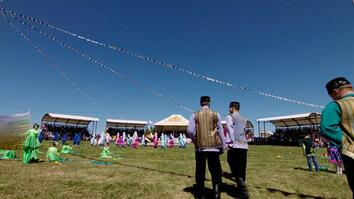 See Celebrations of Strength at Russia's Sabantuy Festival